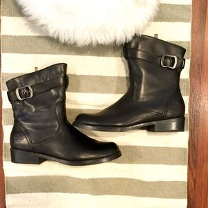 Harley Davidson Valeria Black Leather Riding Boots
